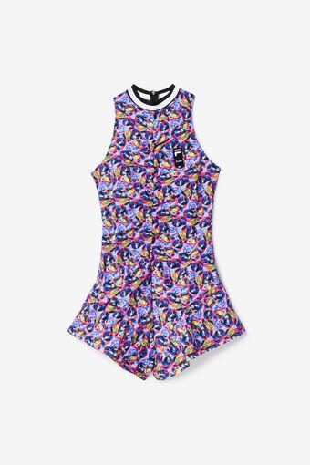 TIE DYE DRESS/PNKGLOMULTI/Large