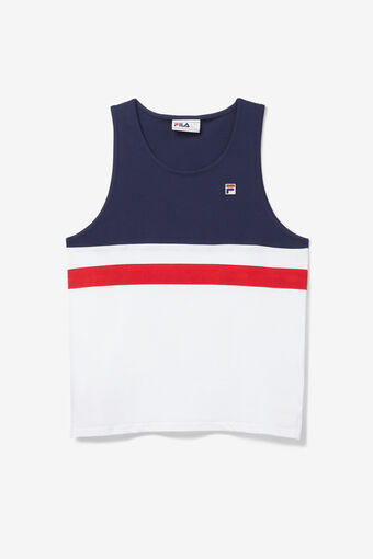 STOKE TANK/WHT/PEAC/CRED/Large