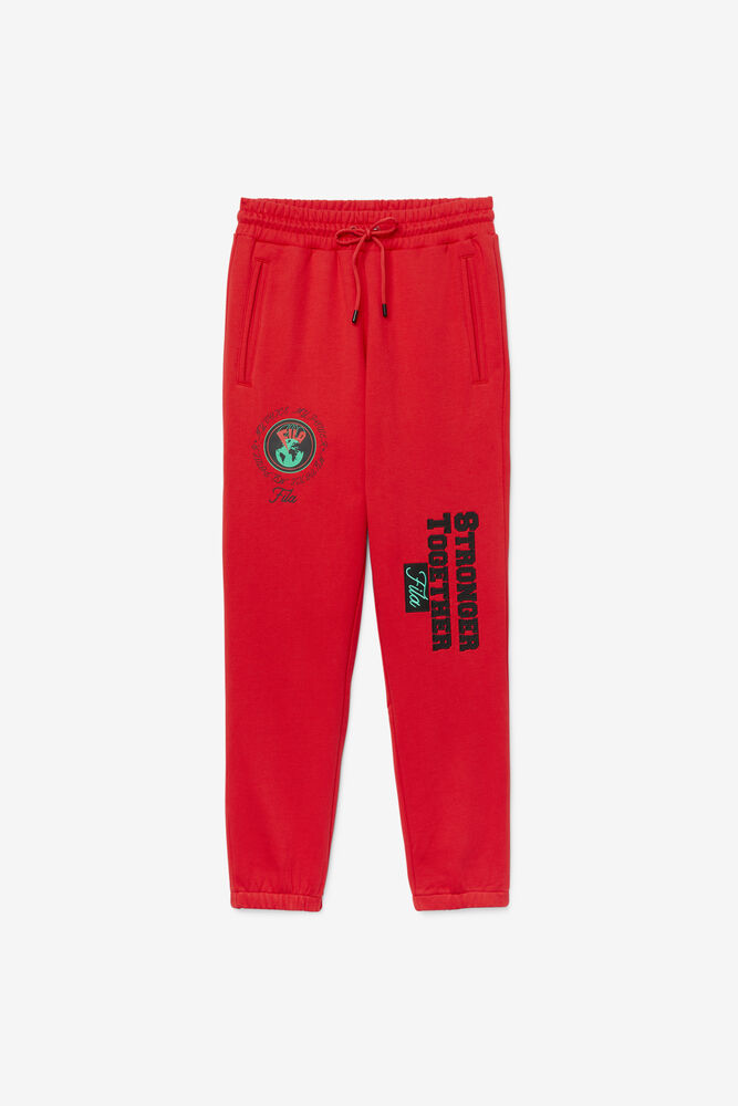 RHYS JOGGER/CHINESE RED/Large