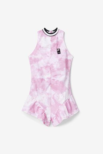 TIE DYE DRESS/PINKGLO/Large
