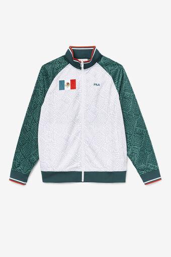 MEXICO TRACK JACKET/JBUG/WHT/FRED/Large