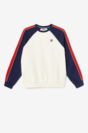 NESTOR COLOR BLK CREW/WWHT/PEAC/CRED/Large