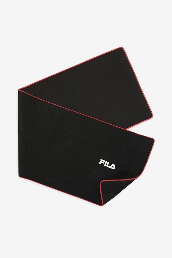FILA SLIMMER BELT 12''/BLK/RED/1 Size