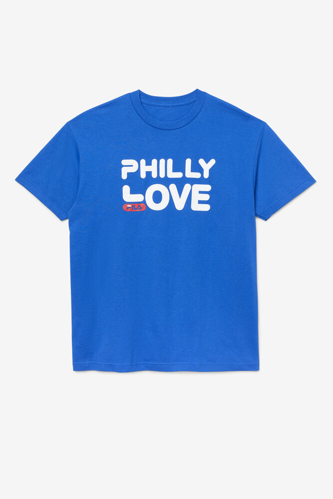 MEN'S PHILLY LOVE TEE/SRFTWB/BLUE/Triple Extra Large