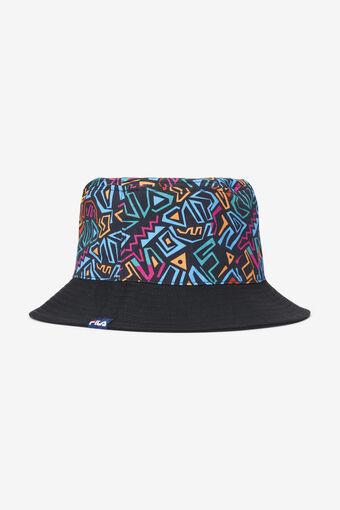 COTTON TWILL BUCKET HAT/BLACK/1SZ