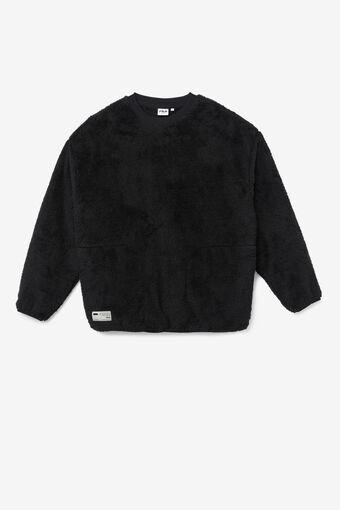 BOA FLEECE SWEATSHIRTS/BLACK/Large