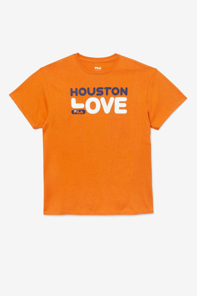 LOVE HOUSTON TEE/VERMILORANGE/Triple Extra Large