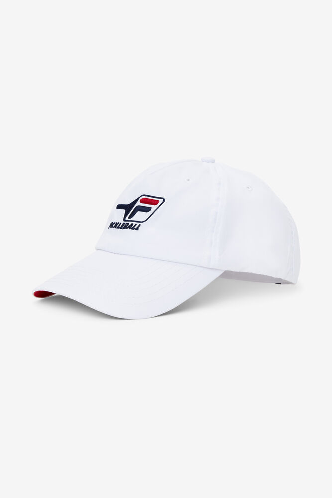 PICKLEBALL HAT/WHT/CRED/1 Size