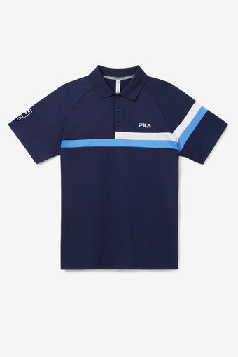 110 YEAR POLO/NAVY/MARN/WHT/Large