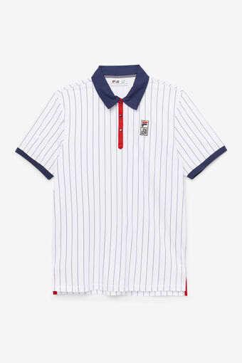THE MUSEUM BB1 POLO/WHT/PEAC/CRED/Large