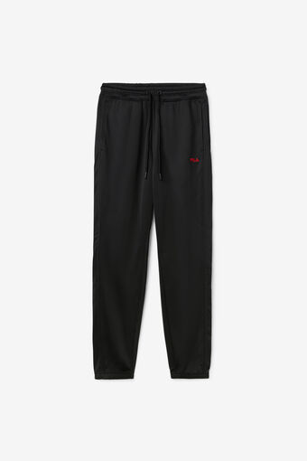 ALBANIA TRACK PANT/BLK/FRED/Triple Extra Large
