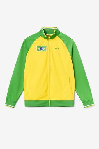 BRAZIL TRACK JACKET/CYLO/FGRN/WHT/Triple Extra Large