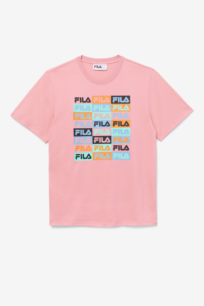 BRODEN TEE/BUBBLEGUM/Triple Extra Large