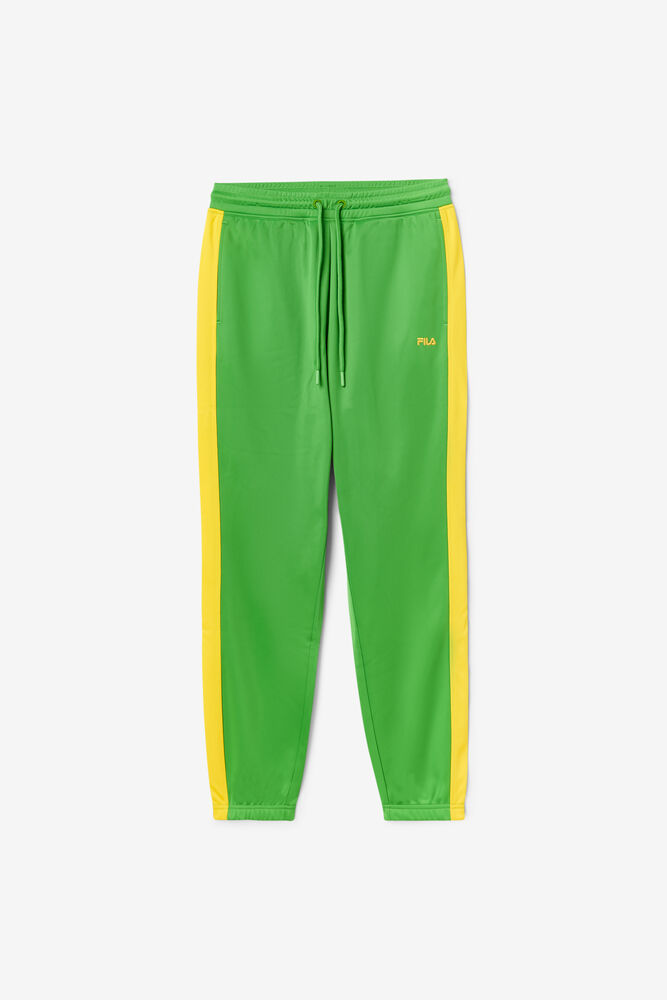 BRAZIL TRACK PANT/FGRN/CYLO/Small