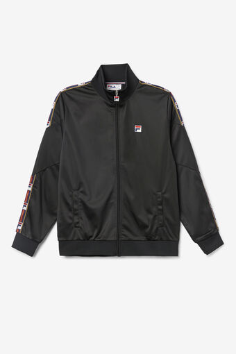 CARSON TRACK TOP/BLACK/Large