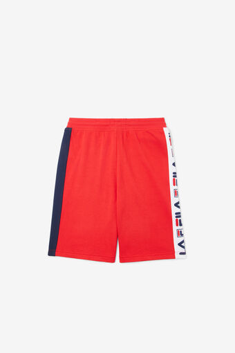 LOGO FRENCH TERRY SHORT/RED/L