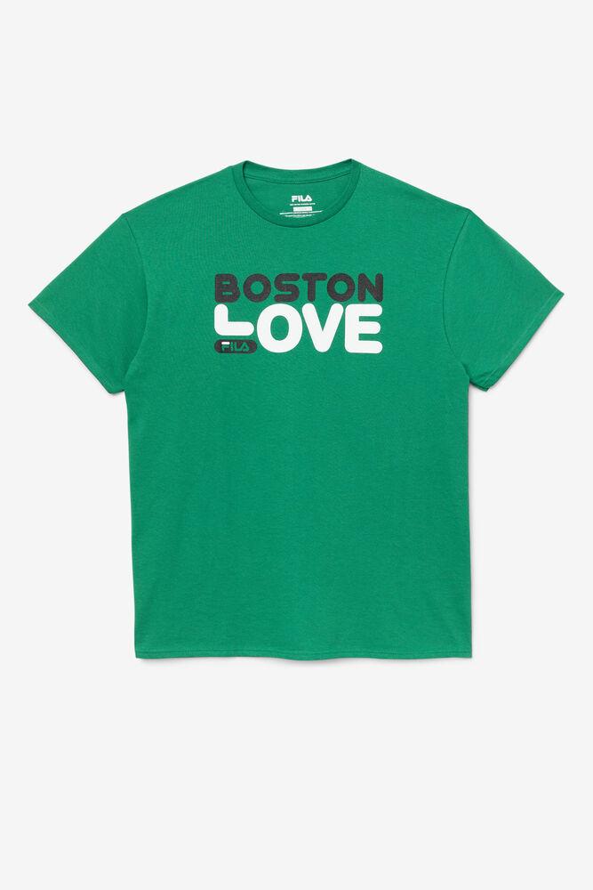 LOVE BOSTON TEE/FERNGREEN/Small