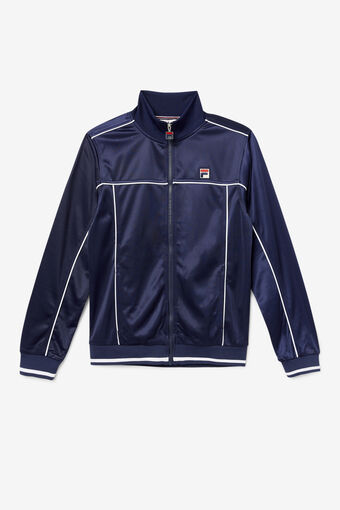 TERRY FUNNEL NECK JACKET