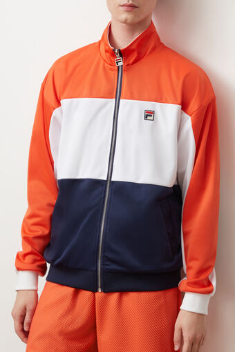 STERLING COLOUR BLK TRACK TOP