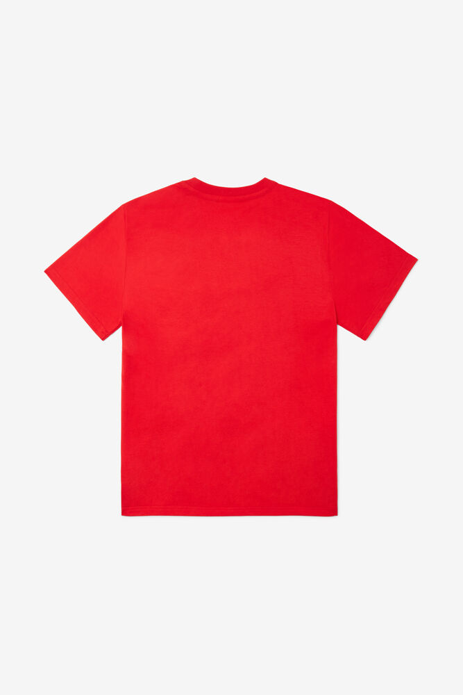 CHARLES TEE/RED/S